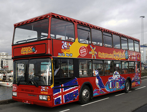 City Sightseeing & The Blue Lagoon