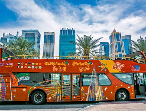 Hop on Hop off CitySightseeing Dubai Bus Tour