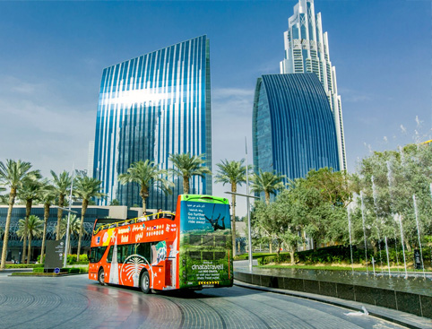 Hop on Hop off CitySightseeing Dubai Bus Tour
