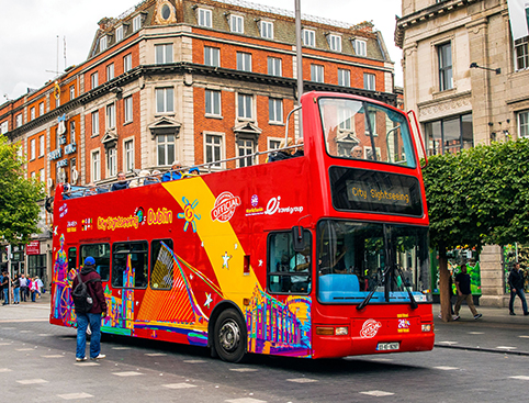CitySightseeing Dublin- Dublin Tour Bus