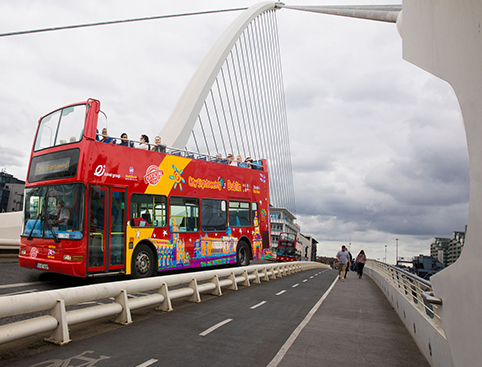 CitySightseeing Dublin- Guinness Storehouse