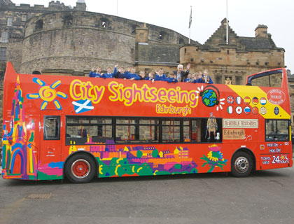 CitySightseeing Edinburgh- Edinburgh Tour Bus