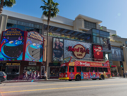 CitySightseeing Hollywood- Bus