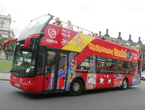 City Sightseeing London Bus Tour- Original London Tour Bus
