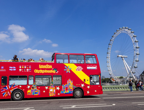 CitySightseeing Open Top Bus