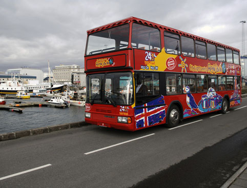 Hop on Hop off City Sightseeing Reykjavik