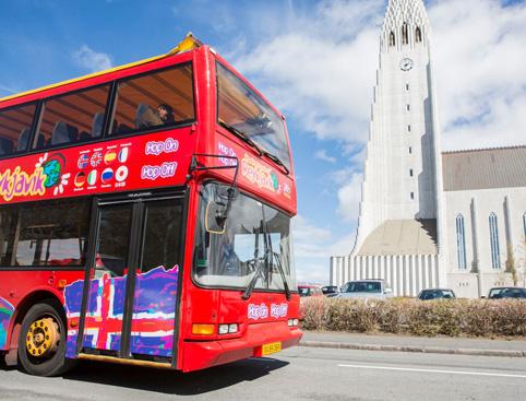 Hop on Hop off City Sightseeing Reykjavik