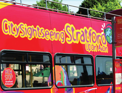 CitySightseeing Stratford-upon-Avon
