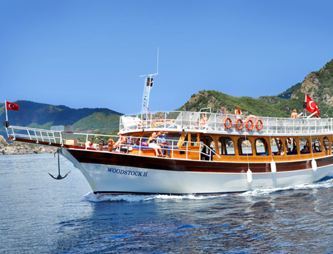 Cruise The Blues Boat Trip from Marmaris