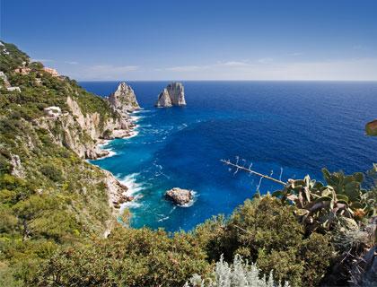 Sorrento To Capri & Anacapri Day Trip- Capri Island Coastline