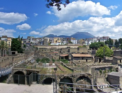 Day trip to Pompeii and Herculaneum