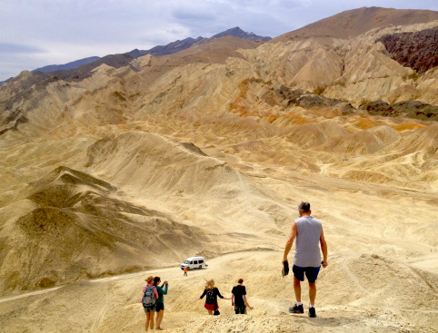 Tour Group Death Valley Nevada