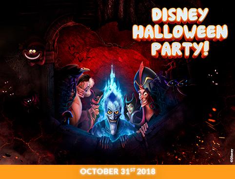 Disneyland Paris Halloween Party 2018.Disneyland Paris Events 2018