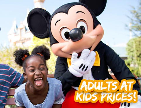 Disneyland California Tickets