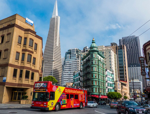 Double Decker All Loops Tour plus Alcatraz- Fishermans Wharf