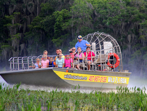 Everglades Airboat Ride and Wildlife Park