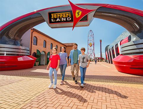 Ferrari Land at PortAventura