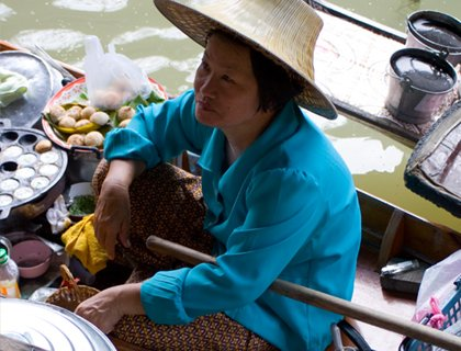 Floating Market and River Kwai - Bangkok