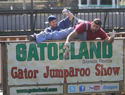 Gatorland- Gator Jumparoo Show