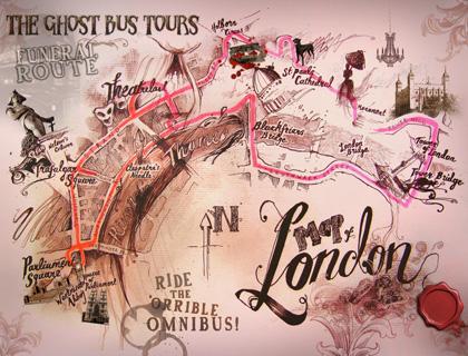 Ghost Bus Tour London