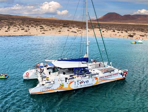 Catamaran Graciosa Island Lanzarote