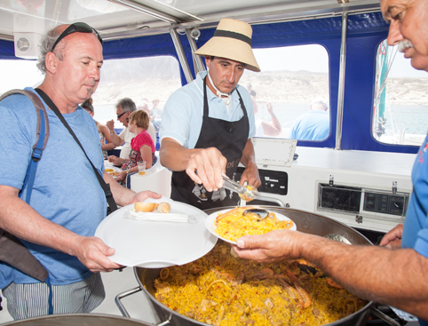 Food on graciosa island tour lanzarote