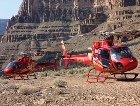 Grand Canyon Helicopter and Ranch Adventure + FREE Monorail Pass