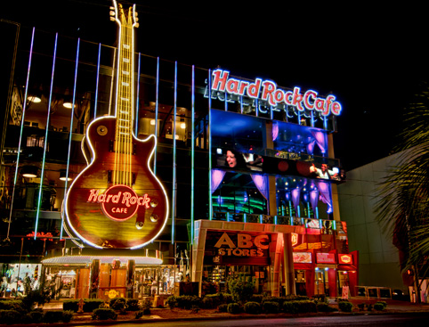 Hard Rock Las Vegas Strip