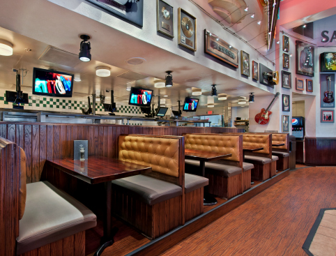 Hard Rock Cafe Las Vegas - Restaurant Booths