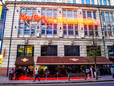 Hard Rock Cafe Manchester Attractiontix