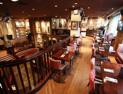 Hard Rock Cafe Manchester Diamond Menu