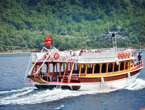 Hisaronu All Inclusive Boat Trip - from Marmaris- Boat Trip