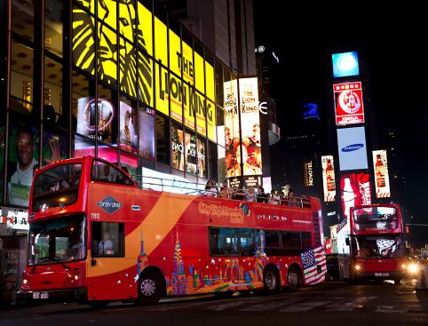 New York Bus Tour - Holiday Lights
