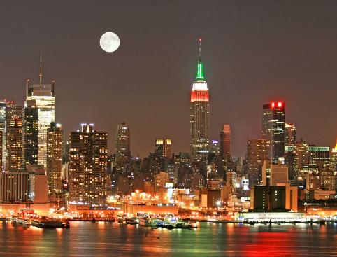 Holiday Lights - New York Bus Tour