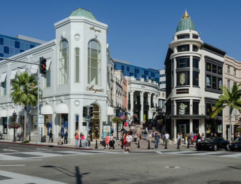 Building North Rodeo Drive Beverly Hills