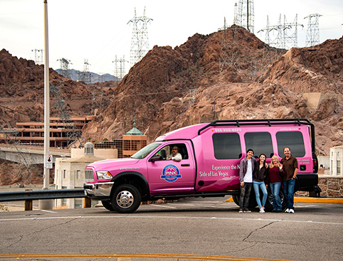 Pink Jeep Tours - Hoover Dam Upgrade Tour