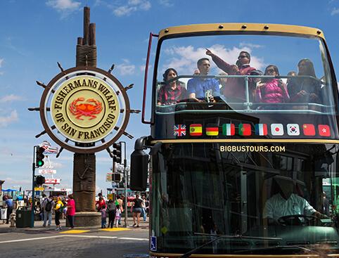 Hop On Hop Off Bus Tour - San Francisco