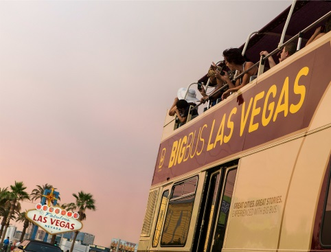 Big Bus Las Vegas - open top sightseeing