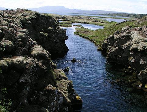 In The Blue Snorkelling - Reykjavik