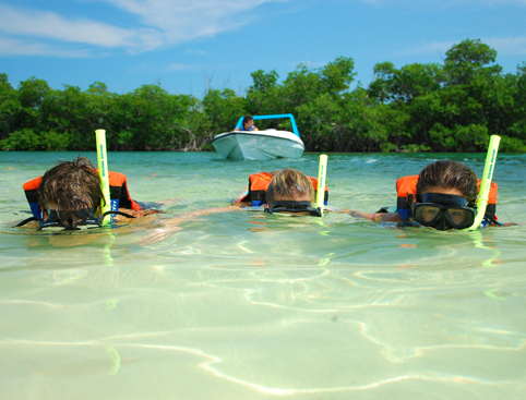 Snorkelling on Jungle Adventure Tour Riviera Maya