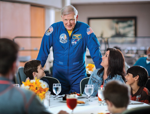 Kennedy Space Center- Family Dining With An Astronaut