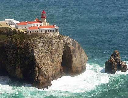 Lagos Sagres Cape St Vicente Algarve