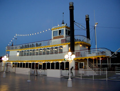 Lake Mead Mississippi style paddle wheel boat