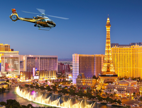 Las Vegas City Lights Helicopter Flight