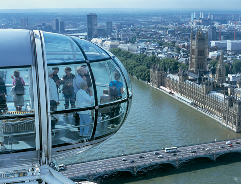 London Eye Tickets-  A View Of The  London Eye
