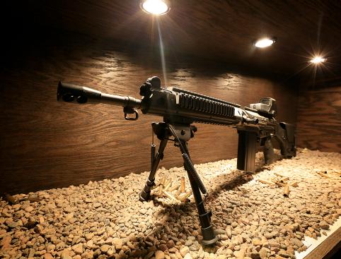 machine guns las vegas
