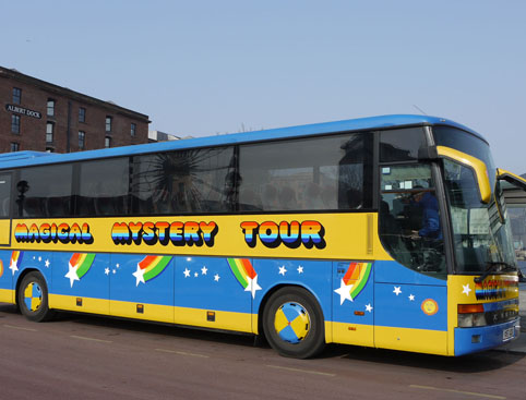 Magical Mystery Tour Liverpool- Beatles Tour Bus