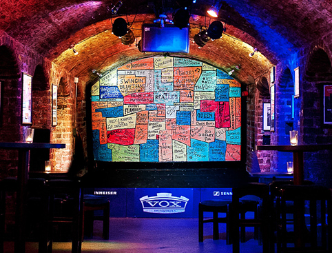 Inside the Cavern Club Liverpool