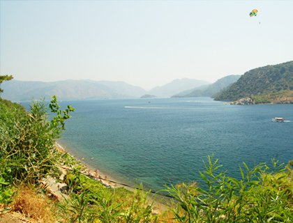 Marmaris And  Icmeler From Fethiye