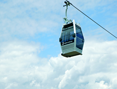 Cable Car Barcelona - Montjuic
